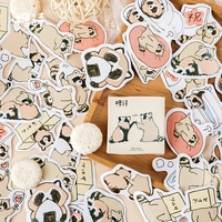 Cute Animal Otter Masking Stickers Scrapbooking Diary Japanese Stationery Paper Sticker Printing