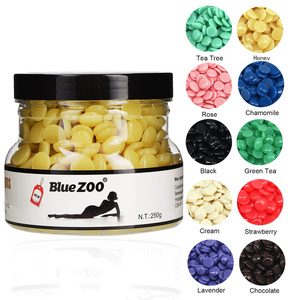 Bluezoo 250g/Can Honey Depilaotry Pearl Wax Hair Removal