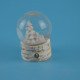 65mm resin wooden base water globes with decal