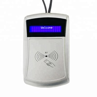 Display 13.56Mhz NFC Rfid Contactless Smart Chip Card Reader Writer with Free Software