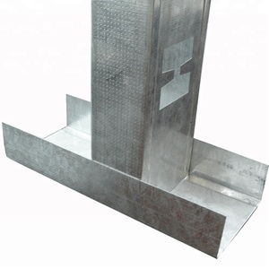 Light steel wall frame channels