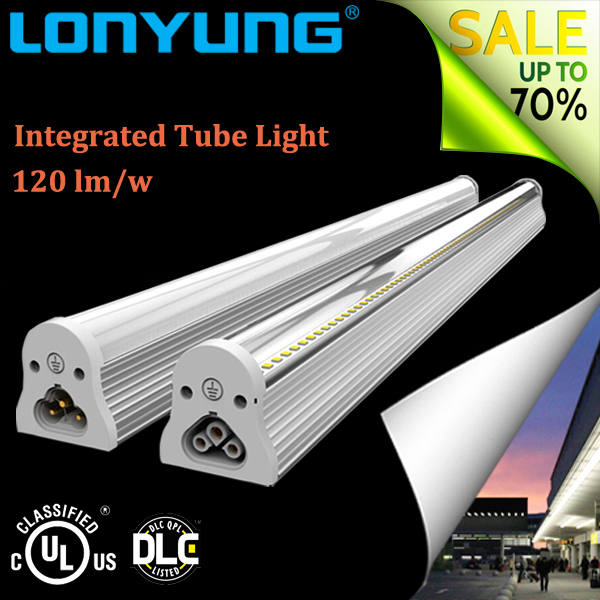 Hot promotion long lasting t5 bracket integrated led tube light with good offer