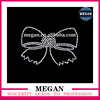 Super cute Bow Designs Motif dmc rhinestone hotfix in top quality