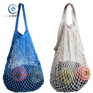 Wholesale Cheap Vegetable Fruit Cotton Net Mesh Bag