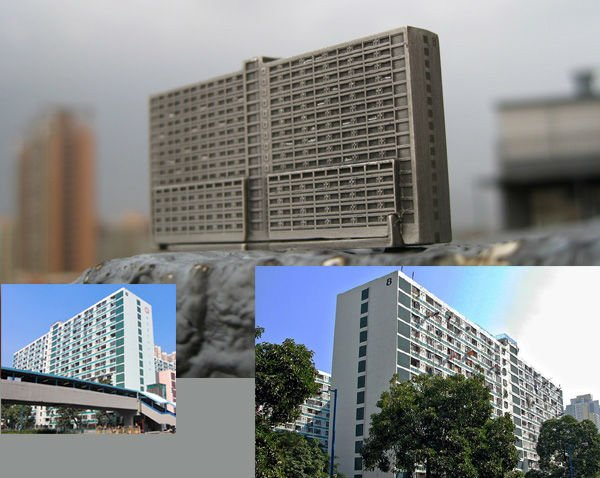 Building model,scale model, alloy metal architectural model