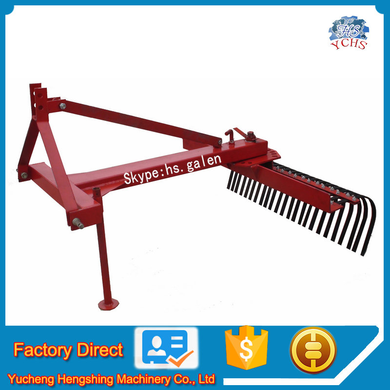 Farm equipment mounted tractor raker farm cultivator for sale