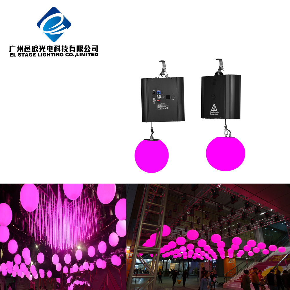 Stage Lighting DMX control LED Lift Ball Light for Night Club