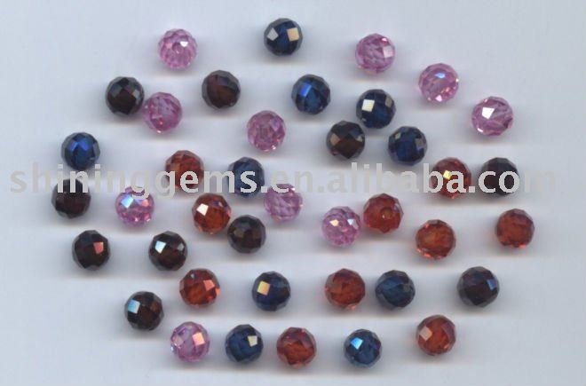 magnetic colourful competitive price faceted gemstone beads
