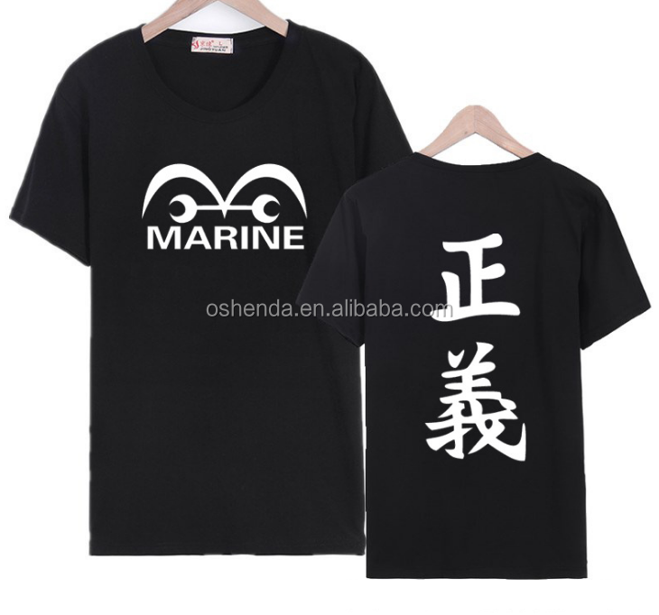 Design Custom Printed logo Lightweight Tagless T-shirts