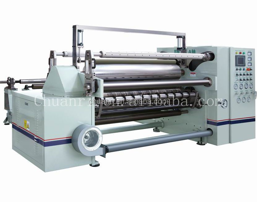 Automatic electrical motor rewinding and tape slitting machine