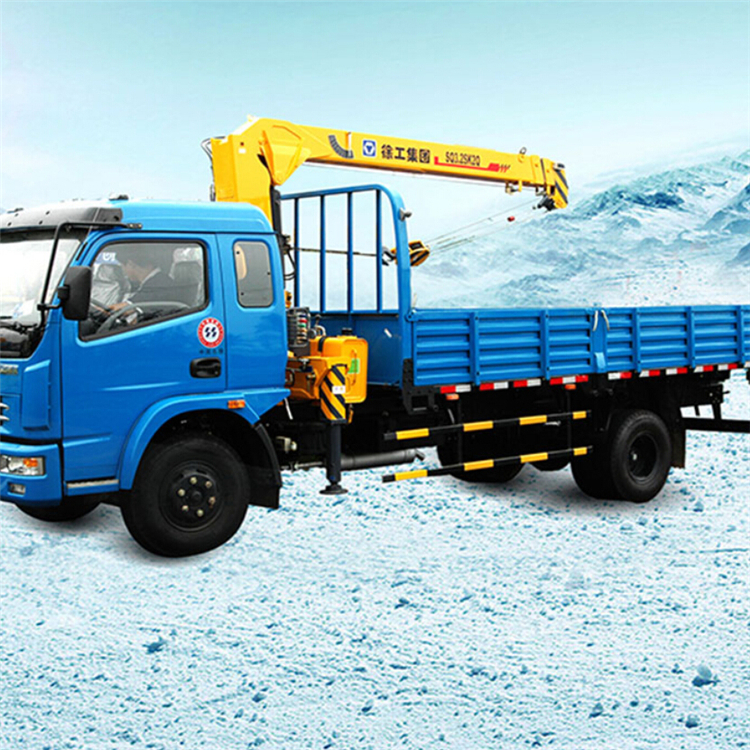 SQ3.2SK2Q  Bigbund 2.1ton pickup mini truck mounted crane