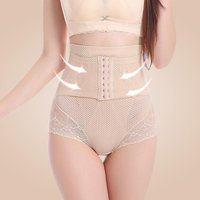 Body Shape Briefs Women's Underwear Hooks Seamless Trainer Corset High Waist Postpartum Slimming Tummy Shorts Shaping Panties
