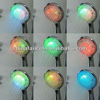 China Led Light Shower Head Water Bathroom Sprinkler (q-h04)