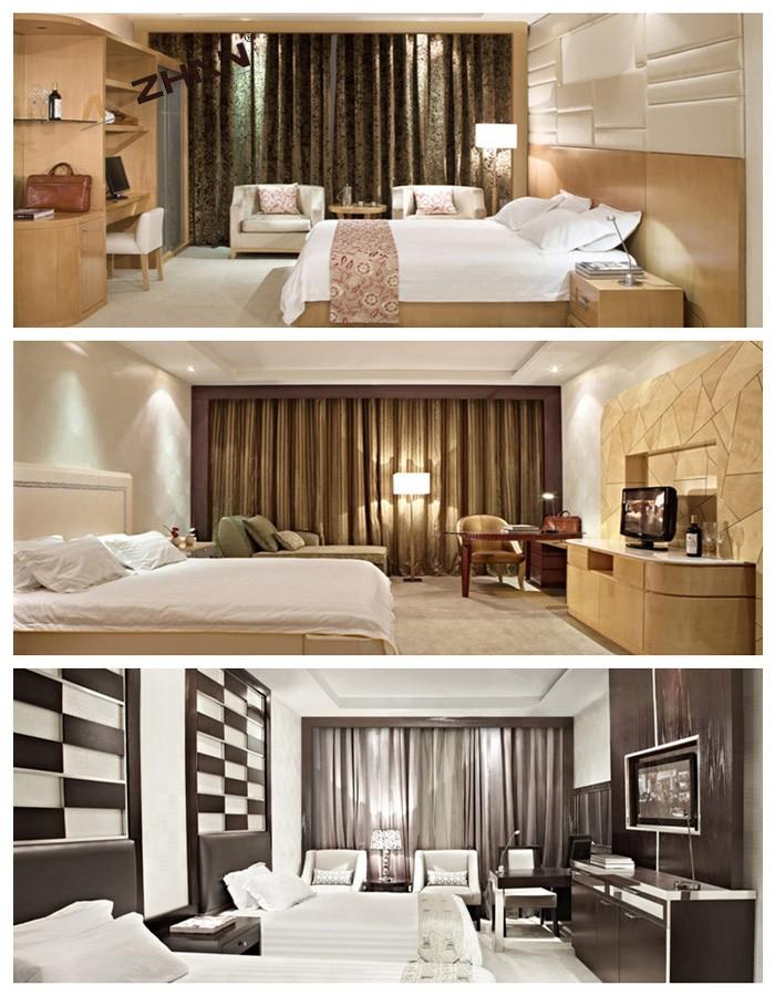 Hotel Room Furniture: Commercial Dubai Wood Hotel Room Furniture