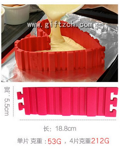 How to DIY snake,bake,cake cup with silicone mould