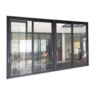 Heat insulation aluminium framed sliding glass door