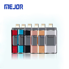 16/32/64/128/256 GB USB flash drive 2.0 memory stick IOS Micro android 3 in 1 memoria OTG Pendrive 32GB