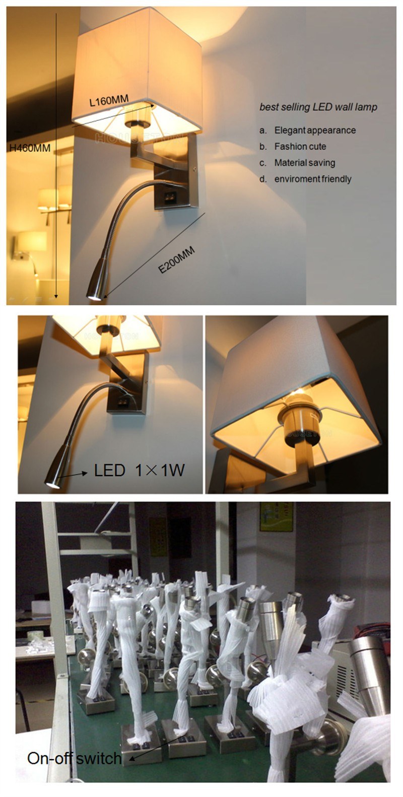 Hot Sale Led Bedroom Reading Lamp Wall Mounted,Bedroom Reading ...