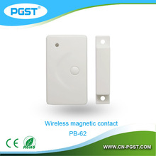Multi-language 433mhz GSM intelligent burglar&fire alarm system connect with motion sensor, door sensor and smoke