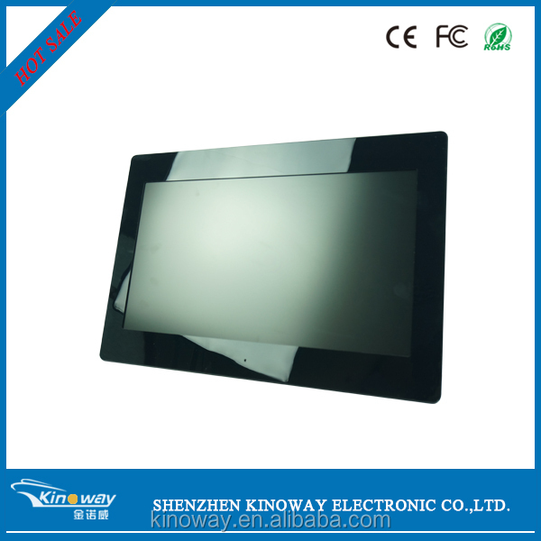 "TFT LCD SD/MS/SM/CF/MMC/MD/USB 19"" Wide Screen Digital Photo Frame and Video Player with Remote hot photo lcd screen"