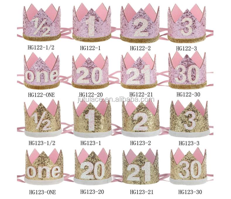 Exclusieve Handgemaakte Baby Verjaardag Kroon Haar Dame 20 Mannen En