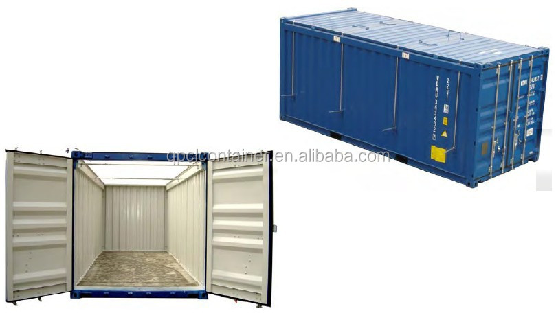 Amazing 20ft Open Top Large Metal Storage Containers