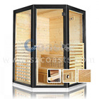 new design high quality Dry steam Sauna Room door for sale