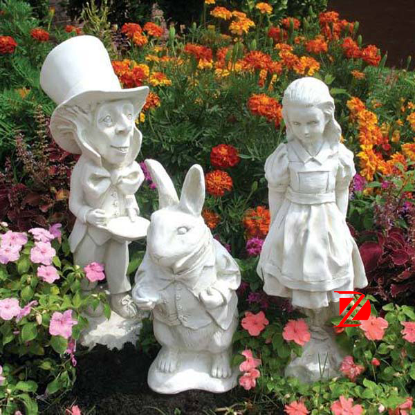 Resin Cartoon Statue Fiberglass Fairy Garden Statues Buy