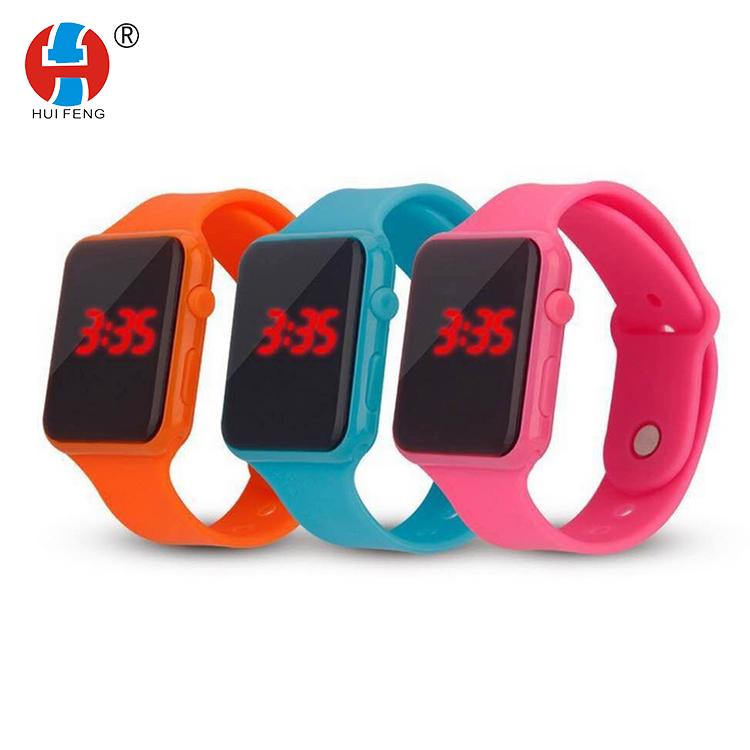 e2c08af8ad9c LED Digital relojes de silicona deportes al aire libre niños pulsera oem  odm Venta caliente regalos