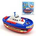 Fire Boat Electric Boat Children Electric Toy Navigation Non remote Warship Christmas Kids Toy Baby pokemon