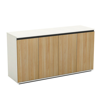 Office Furniture Vertical Storage Wooden Filling Cabinet Back Credenza