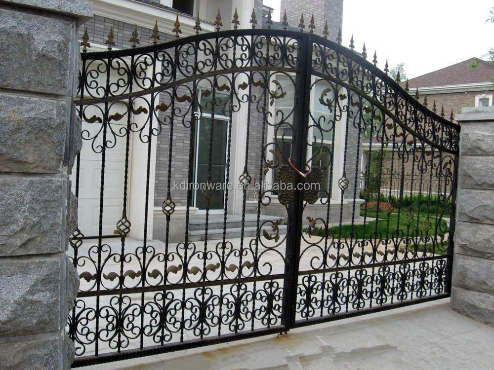 Garden And House Low Carbon Steel Gates Grill Design