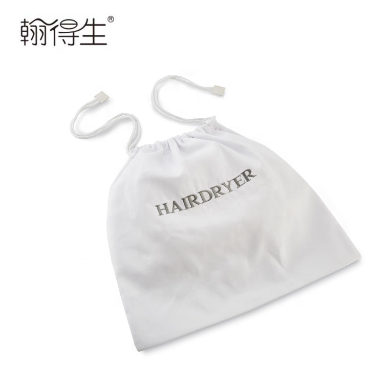 Custom fashionable Good quality practical canvas hairdryer bag
