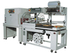 Full automatic system single side sealer and shrink wrapping machine
