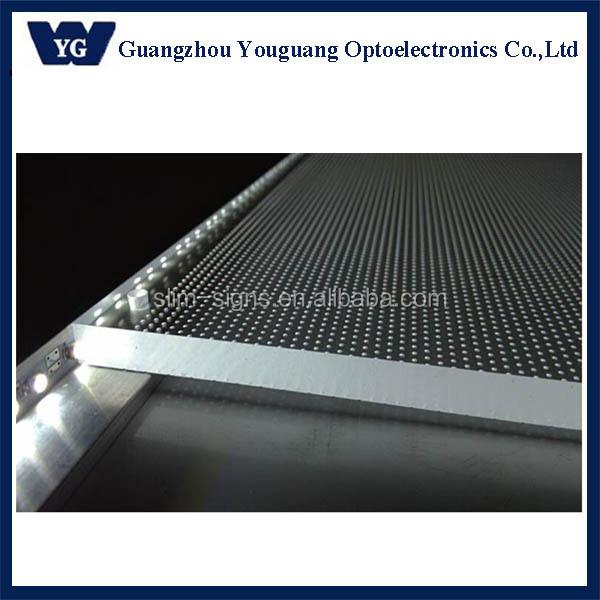 Pure Acrylic Light Guide Panel 78w - Buy High Efficiency Lgp Edge-lit Led  Light Panel,Led Edge-lit Light Guide Panel,Silk Screen Inked Printting Lgp