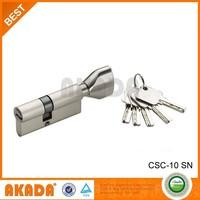 Wenzhou High Security Euro Profile Round Pin Cylinder Lock