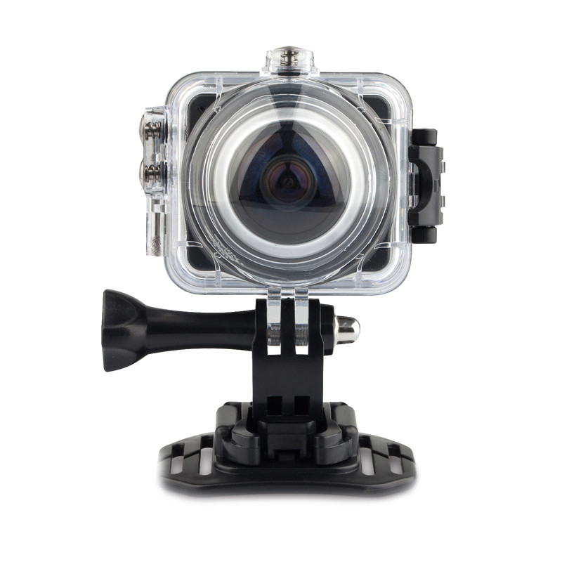 Action Camera cube 360 VR Camera Build-in WiFi Sports Camera H.264 Wifi sport action camcorder