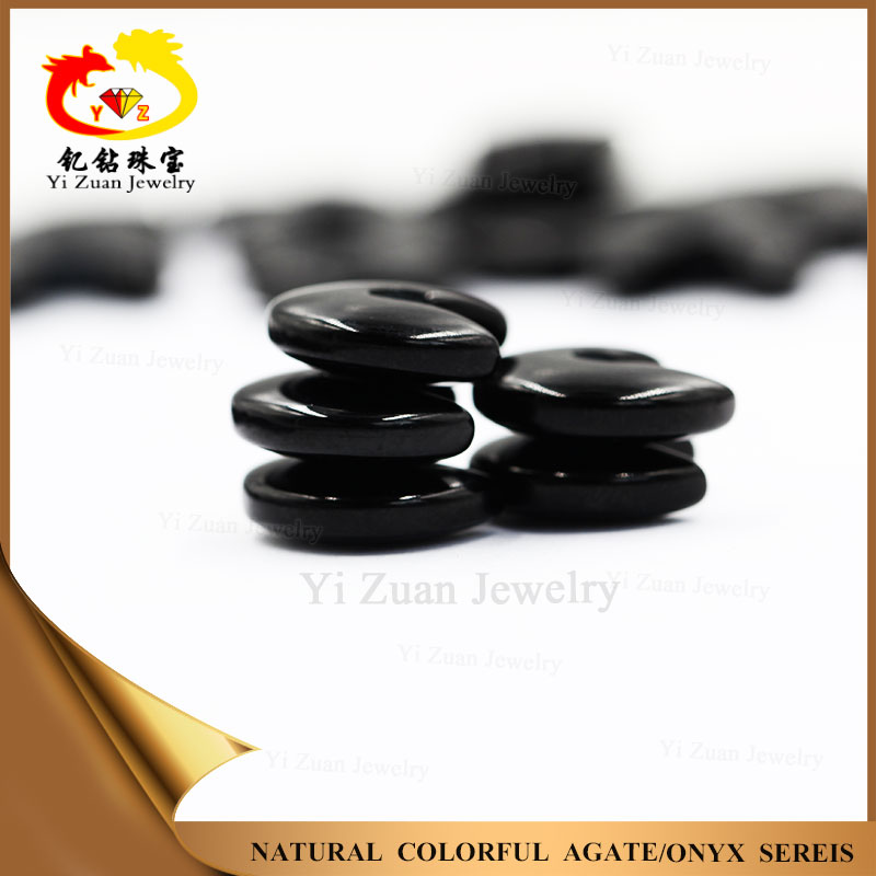 Factory price chinese natural black agate for sale