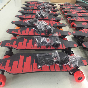 30KMH Hot Sale Samsung Battery Electric Skateboard Long Board Skate Board Deck Boosted Motor BlankElectric Skateboard