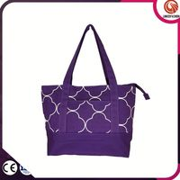 Durable in use new coming drawstring tote bag beach canvas bag supplier