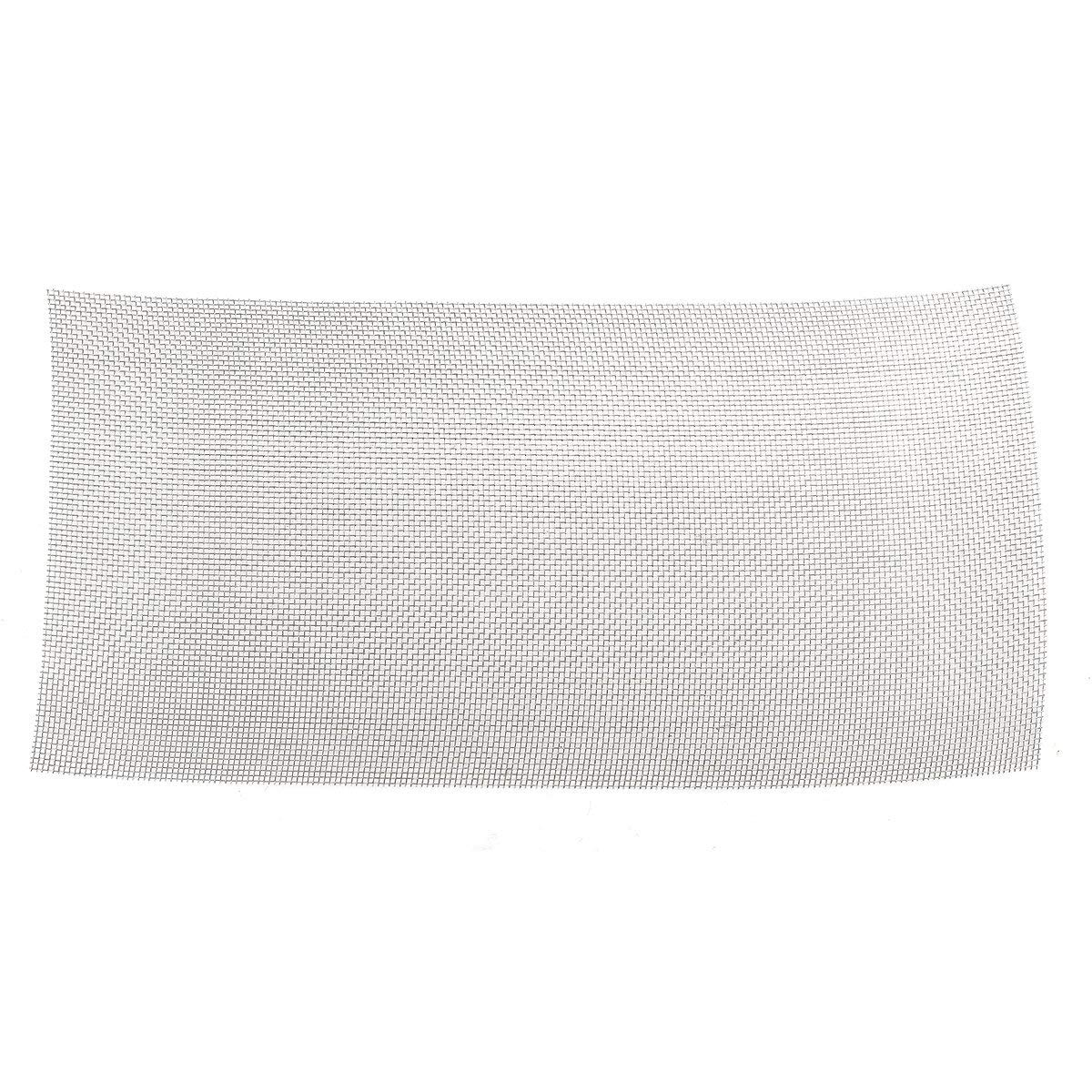 30x60cm Woven Wire 304 Stainless Steel Filtration Grill Sheet Filter 8 - Raw Materials Mesh & Wire Cloth - 1×Stainless Steel 10 Mesh Filtration