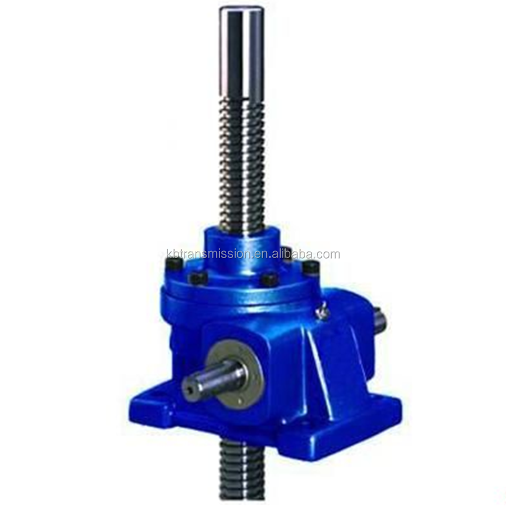 Power transmission high torque reducer low speed reduction gearbox SWL series worm gear screw jack