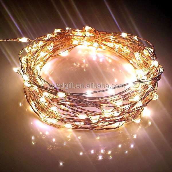 cerohs copper wire party christmas led christmas lights led christmas tree lightled string - Christmas Led String Lights