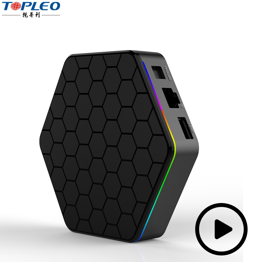 T95Z PLUS Octa Core android tv box 3gb ram 16GB rom Android 7.1 amlogic s912 tv box