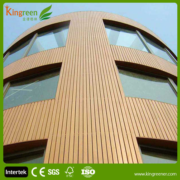 Wood plastic composite exterior wall cladding wall cladding outside prices pvc wood plastic for Composite wood panels exterior