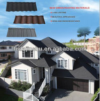 curved stone coated metal roof tiles/colorful corrugated roof sheet pieces