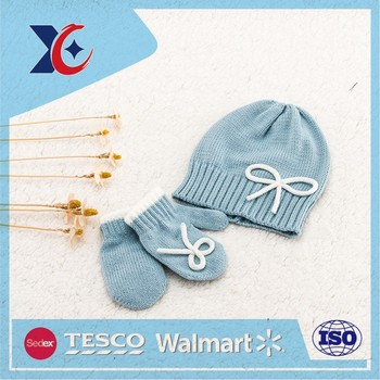 Custom new latest fashion autumn women hat set