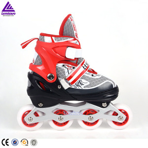 2017 Lenwave brand professional high quality flashing outdoor kids inline roller skates