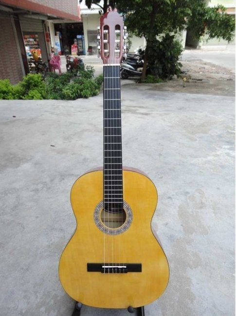 2016 New 39 Acoustic Classical Guitar Wood Color Guitarra Musical
