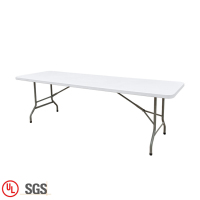 8 Foot Folding Outdoor Party Rectangular Table Coffee Table